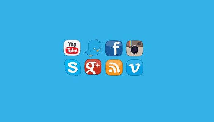 Как добавить иконки социальных сетей