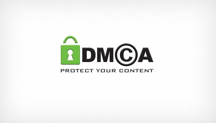 Защита профиля знаком DMCA